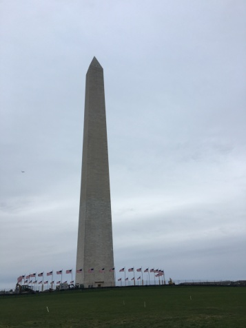 Making it to the monument was the best feeling.